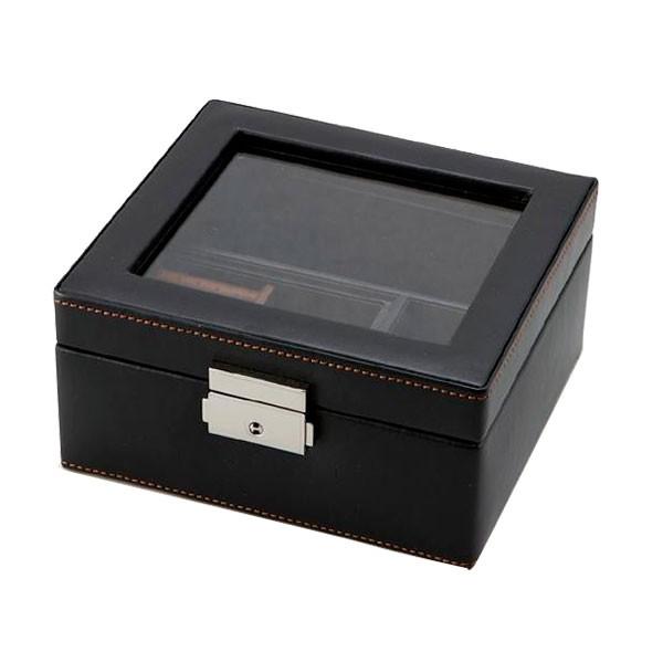 収納 男性用 ケース茶谷産業 LA VITA IDEALE(ラヴィータイデアーレ) メンズボックスM 240-575BK C