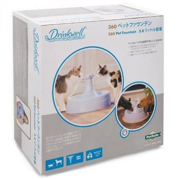 犬猫 ドリンクウェル ペット用品 水飲み器 ペットファウンテン 自動 給水器 大容量 PetSafe Japan ペットセーフ ドリンクウェル 360 ペ