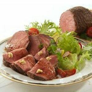 厳選 ギフト 手土産 御歳暮 肉 贈り物 人気 食品 北海道産牛ローストビーフ 200g ×6パック