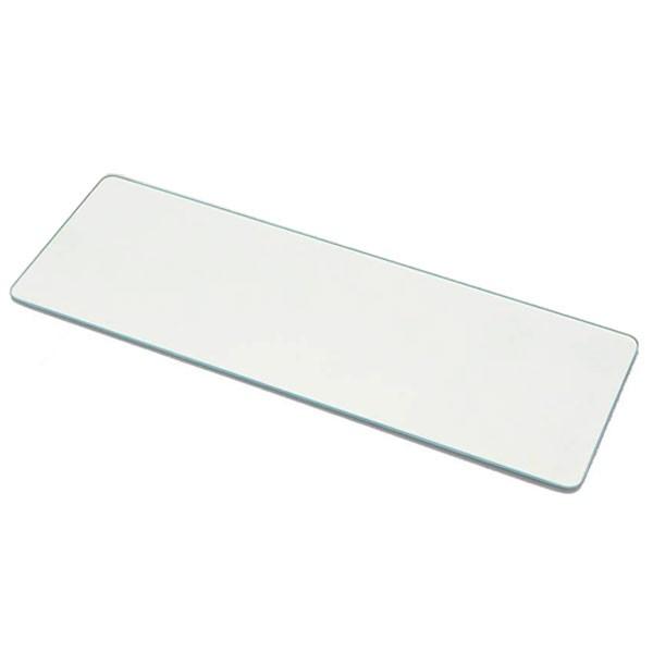 台所 まな板 お手入れ Belca(ベルカ) キッチントッププレート 15×45cm KTP-WH1545 ホワイト 鍋敷き キッチン 簡単 強化ガラス 耐熱