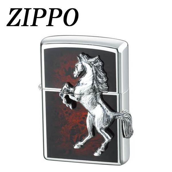 メタル ケース ライター アーマー ホース おもしろ ブランド プレゼント ZIPPO ウイニングウィニー ディープレッド