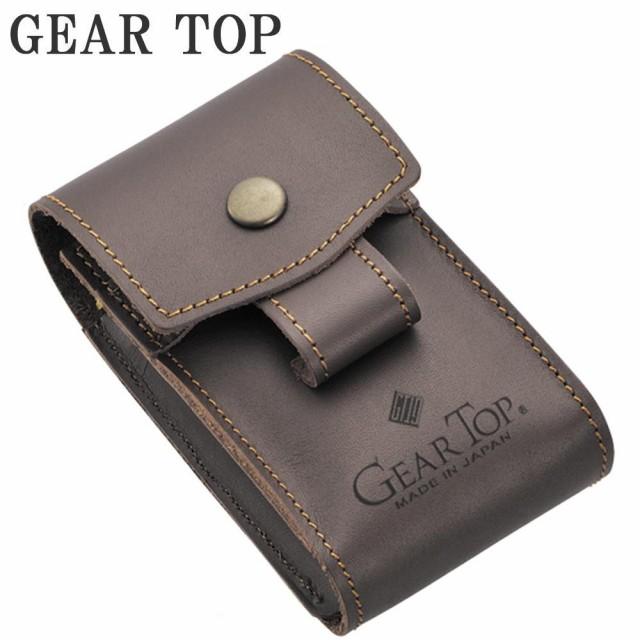 GEAR TOP シガレットケース GT-302 ブラウン C