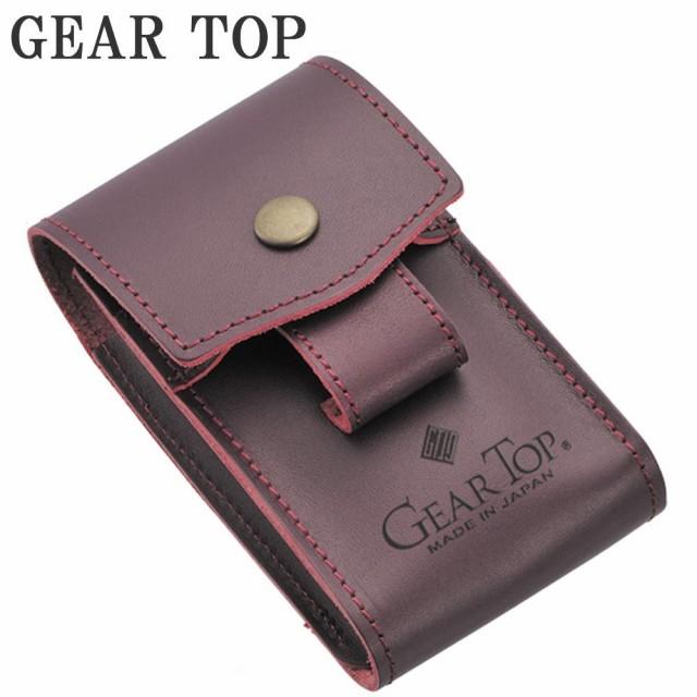 GEAR TOP シガレットケース GT-303 ワインレッド C