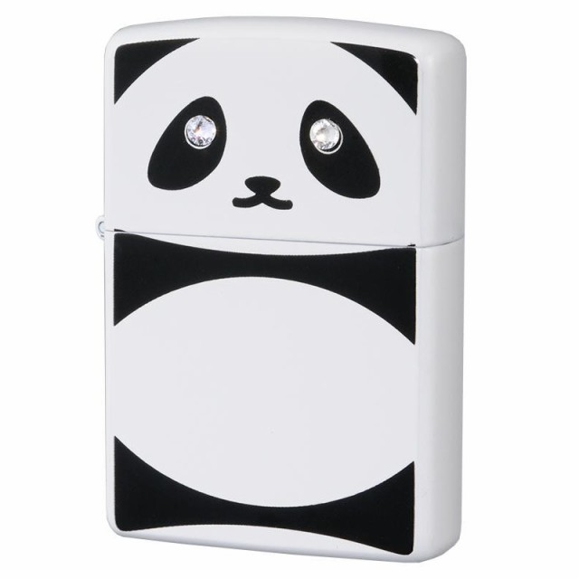かわいい 動物 プレゼント ZIPPO(ジッポー) オイルライター パンダ C クリスタル 63320798 おもしろ ギフト ブランド ラインストーン ア
