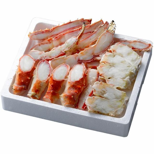 海鮮 食材 蟹 かに酢付 プレゼント ギフト 材料 グルメ お土産 冷凍 ボイルたらばがに笹切 TSBC080