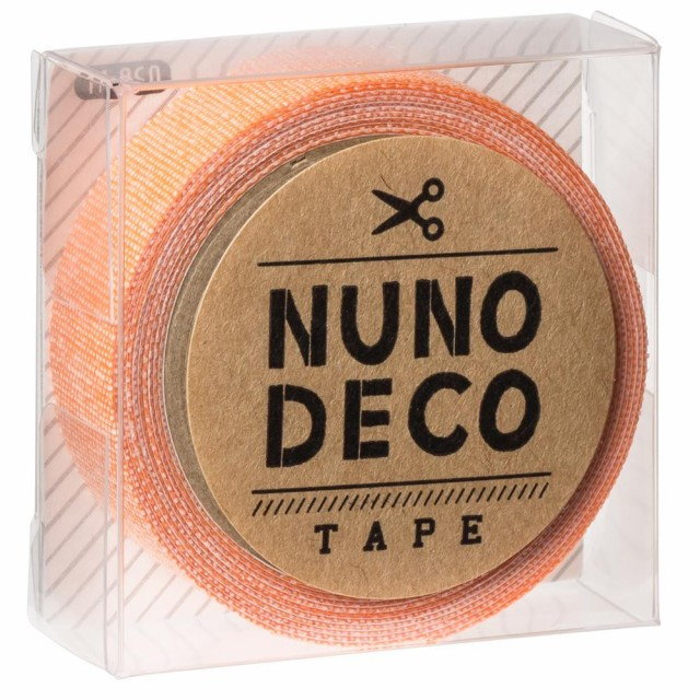 KAWAGUCHI(カワグチ) 手芸用品 NUNO DECO ヌノデコテープ みかん 11-868
