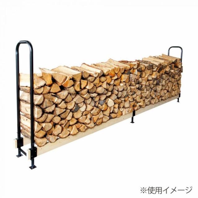 薪 木材 収納 おしゃれ 保管 高さ調節 棚 ストック ログラック スライド式 2×4ログラック PA8315R-1