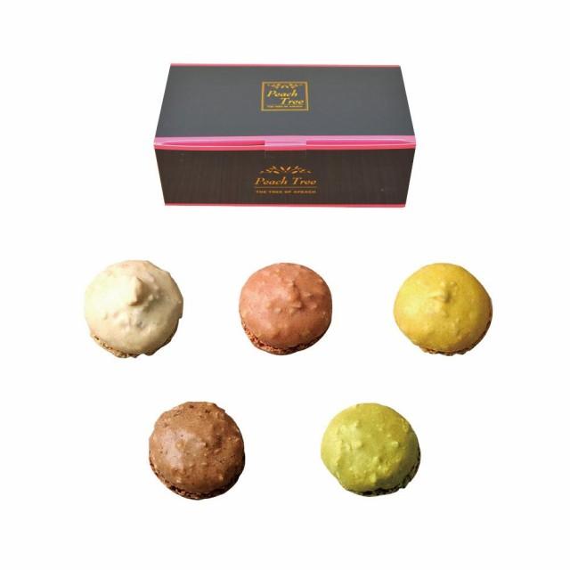 【同梱・代引き不可】スイーツ スウィーツ 焼き菓子クッキー詰め合わせ ピーチツリー ブラックボックスシリーズ マカロン 3箱セットパー