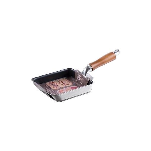 調理道具 小さい 玉子焼き ピコット IH対応二層鋼ミニエッグパン 12×14cm MB-1203 クッキングウェア 小さめ キッチン お手入れ簡単 台所