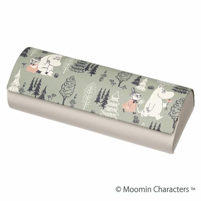 MOOMIN(ムーミン) メガネケース ムーミンとリトルミイ(クロス付) 094103 C