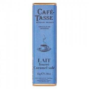 CAFE-TASSE(カフェタッセ) 塩キャラメルミルクチョコ 45g×15個セット M