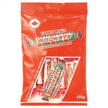 ROCKETS(ロケッツ) キャンディーロール 135g×12個セット (送料無料) 直送