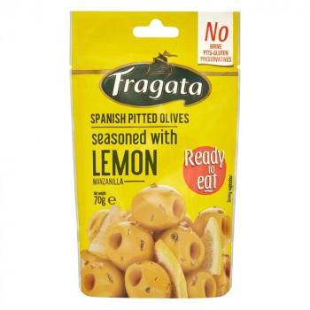 【送料無料】【代引き不可】Fragata(フラガタ) グリーンオリーブ レモン 70g×8個セット「他の商品と同梱不可/北海道、沖縄、離島別途送