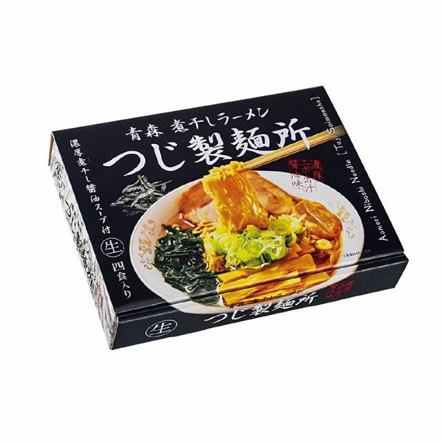 送料無料 同梱不可銘店ラーメンシリーズ 青森ラーメン つじ製麺所 (大) 4人前 18セット PB-138