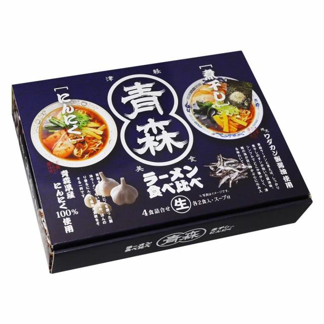 M 青森ラーメン食べ比べ 4食 18セット RM-158