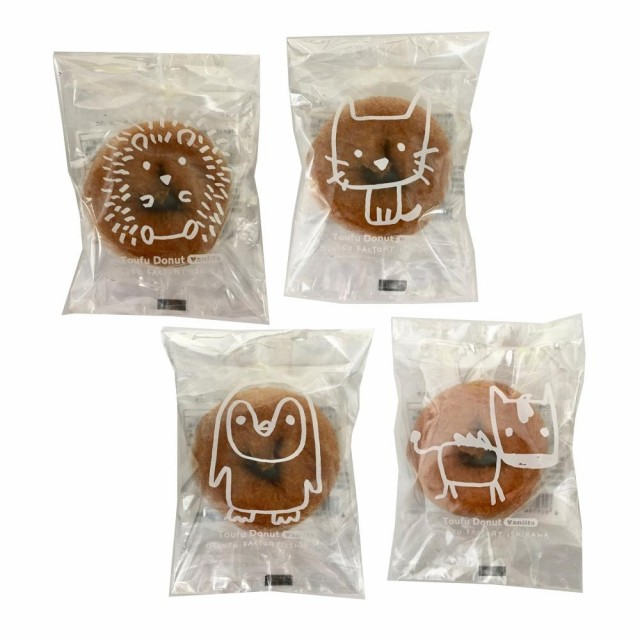 豆腐 スウィーツ 洋菓子 どうぶつ とうふドーナツ バニラ 1P(30袋) おやつ 食品 お菓子 国産大豆 スイーツ