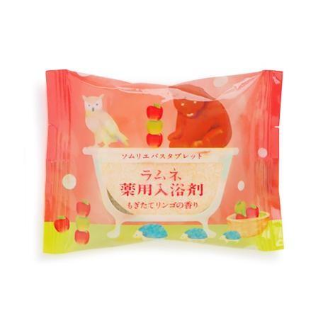 ソムリエバスタブレット ラムネ薬用入浴剤 もぎたてリンゴの香り 12個入り