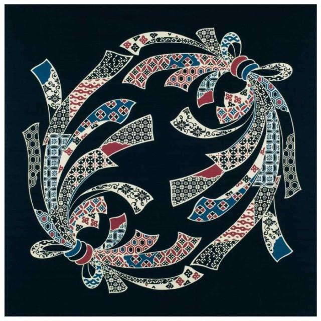 古典ふろしき 四巾 のしめ柄 30-053031 C