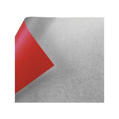 銀箔両面和紙 単色 25cm 赤 10枚入 No.7045 1 セット