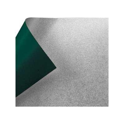 銀箔両面和紙 単色 12cm 緑 10枚入 KJ-11G 5セット