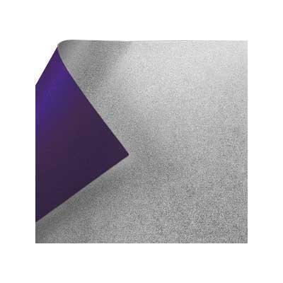 銀箔両面和紙 単色 12cm 紫 10枚入 KJ-11M 5セット