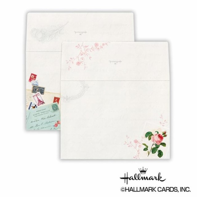 Hallmark ホールマーク 便箋用封筒 RCローズ 6セット 723897 M