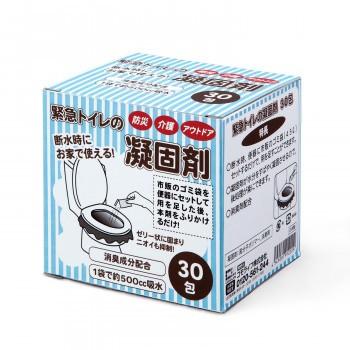 緊急トイレの凝固剤 30包