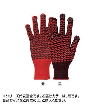 【同梱・代引き不可】勝星 スマートフォン・タッチパネル対応手袋 クイックタッチキャッチライナー Q-039 M 黒 10双