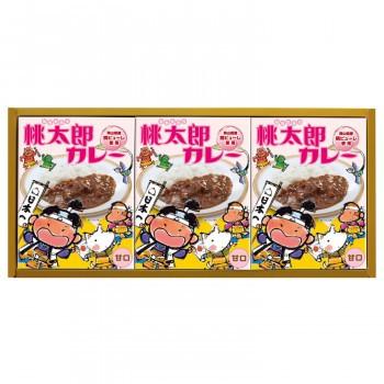 甘口セット 桃太郎カレー 3P MTA-15