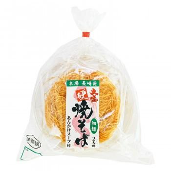 エン・ダイニング 本場長崎 大盛硬焼そば(細麺) 2人前×10個(送料無料)直送