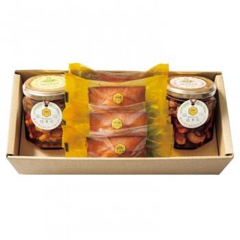 パティスリーQBG 森のぐだくさんナッツのはちみつ・メープル漬け&フィナンシェC 90007-07 (送料無料) 直送