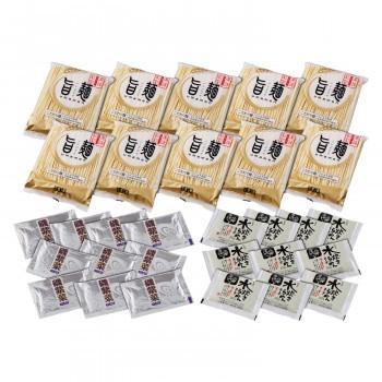 「旨麺」博多水炊きラーメンセット(磯紫菜付) 10食セット FM-10i