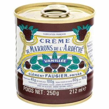 【同梱・代引き不可】クレマン・フォジェ マロン・クリーム缶 250g 12個セット F9-01
