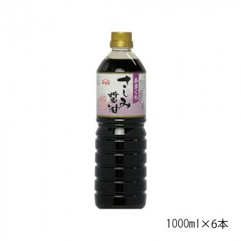 M ヤマエ さしみ醤油 本醸造あまくちさしみ 1000ml×6本