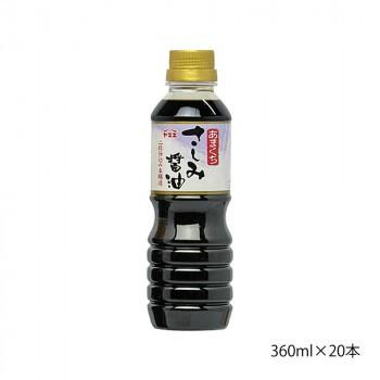 M ヤマエ さしみ醤油 本醸造あまくちさしみ 360ml×20本
