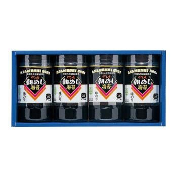 やま磯 海苔ギフト 朝めし海苔詰合せ 8切32枚×4本セット 朝めしカップ4本詰R M