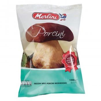メルリーニ ポルチーニ ホール 1000g 10袋セット 24 冷凍 (送料無料) 直送