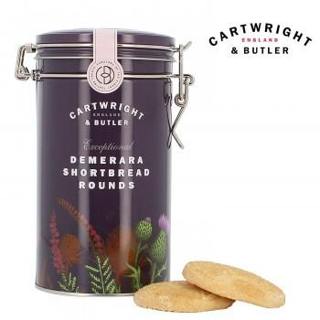 【同梱・代引き不可】C B ビスケット お菓子Cartwright&Butler カートライト&バトラー デメララ ざらめ バターショートブレッド 6缶 1