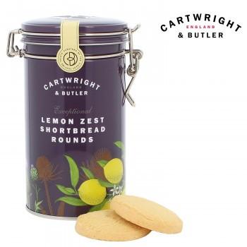 クッキー イギリス C B Cartwright&Butler カートライト&バトラー レモンショートブレッド 6缶 10041046 ビスケット お菓子 輸入菓子