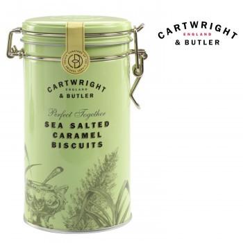 ビスケット お菓子 クッキー 輸入菓子 イギリス C B Cartwright&Butler カートライト&バトラー 塩キャラメルビスケット 6缶 10041054
