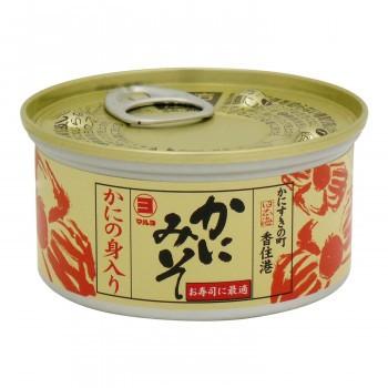 マルヨ食品 新かにの身入りかにみそ缶詰 100g×48個 01047 (送料無料) 直送