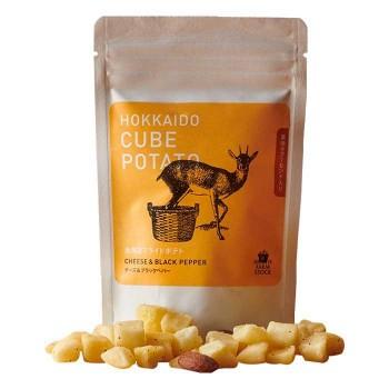 ノースファームストック キューブポテト3種(ソルティ ハーブ)×20(チーズ&ベラックペパー/リッチ トリュフ)×10