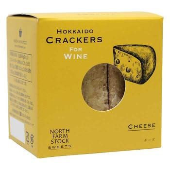 白亜ダイシン ノースファームストック 北海道クラッカー 5種 プレーン/チーズ/トマト/オニオン/エビ 8セット
