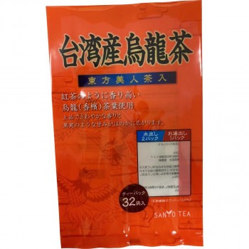 M 台湾産烏龍茶 東方美人茶入りティーパック 12セット 業務用 徳用セット