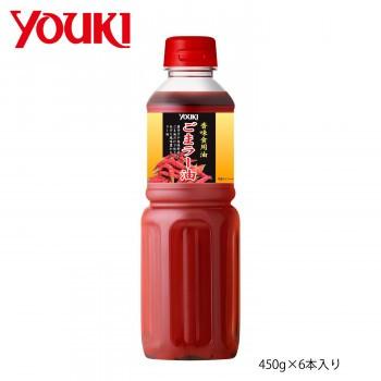 まとめ買い 調味料 お徳用 YOUKI ユウキ食品 ごまラー油 450g×6本入り 212074