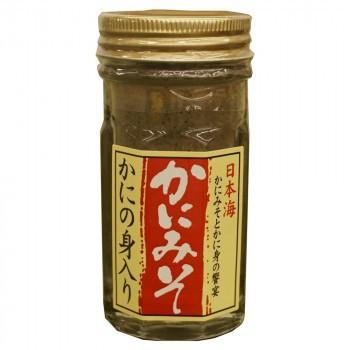 まとめ買い 蟹味噌 お徳用 蟹みそ カニみそ カニ味噌 マルヨ食品 かにの身入りかにみそMY(瓶詰) 60g×40個 01051