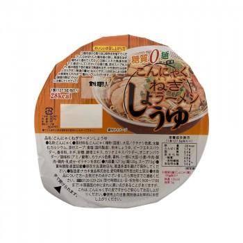 【同梱・代引き不可】ナカキ食品 カップこんにゃくラーメンシリーズ 蒟蒻ねぎラーメンしょうゆ 12個セット×2ケース