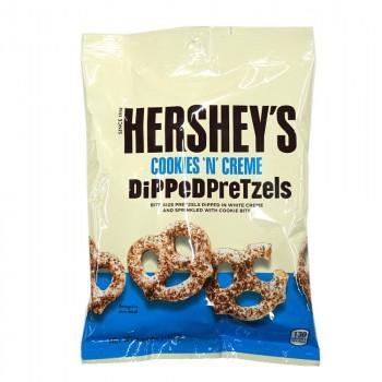 ハーシーチョコレート ディップドプレッツェル クッキー&クリーム 120g×12袋