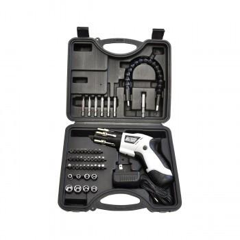 C 充電式電動コンパクトドライバーセット ホワイト×ブラック VS-TL900WH
