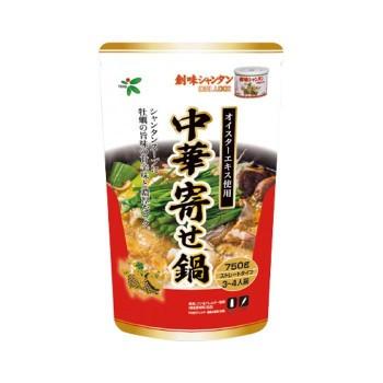 【同梱・代引き不可】TOHO 桃宝食品 創味シャンタン中華寄せ鍋つゆ 750g×12個入り